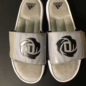 lowest price f3a1f 9bb63 Shoes - Adidas Derrick Rose Slides size 11
